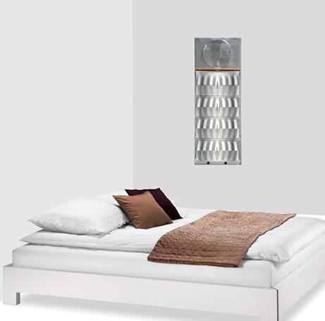 3D Befeuchter im Schlafzimmer