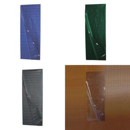Ansicht aller Dekorfolien in den erhältlichen Farben